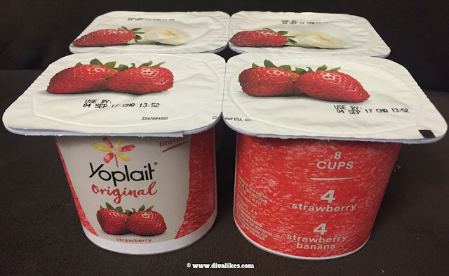 Yoplait Original Strawberry Banana