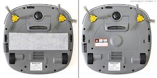 Ecovacs Imetec 8102 Deebot CR110, vista inferiore