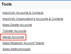 SFDC 3:16: Salesforce - Merge Accounts