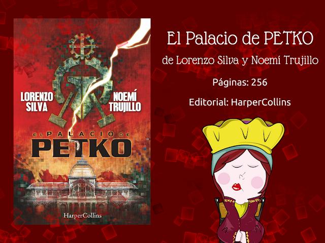 reseña del libro El palacio de Petko de Lorenzo Silva y Noemí Trujillo