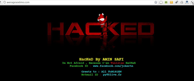 15 Porn sites defaced by Amin Safi (Tunisian Hacker)