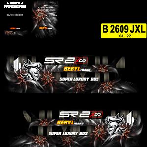 Livery Bussid Beryl Trans XDD BUSSID v2.9