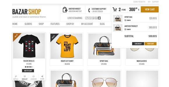 bazar shop wordpress theme free download