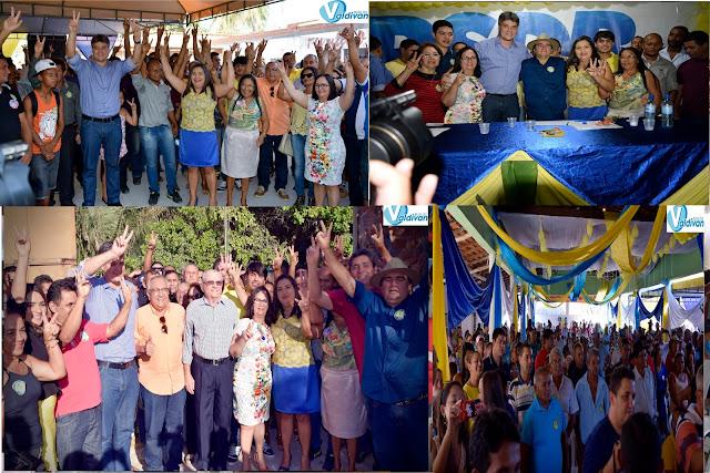 Anapurus - Em convenção, PSDB oficializa Profª Vanderly   candidata a prefeita e Profª  Lucia a vice