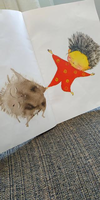 Livro Pedro vira porco espinho