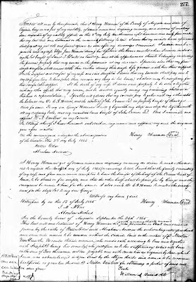 Augusta County, VA Will Book 40, page 277, Henry Harman
