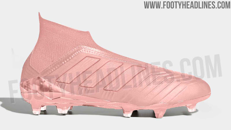 1a59d5f05 Spectral Mode - September 2018. The pack including the already infamous  pink Adidas Predator 18 boots ...