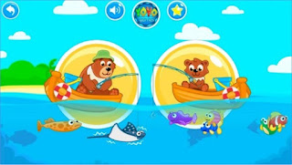 Games Fishing for kids. App