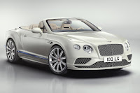 Bentley Continental GT V8 Convertible Galene Edition by Mulliner (2017) Front Side