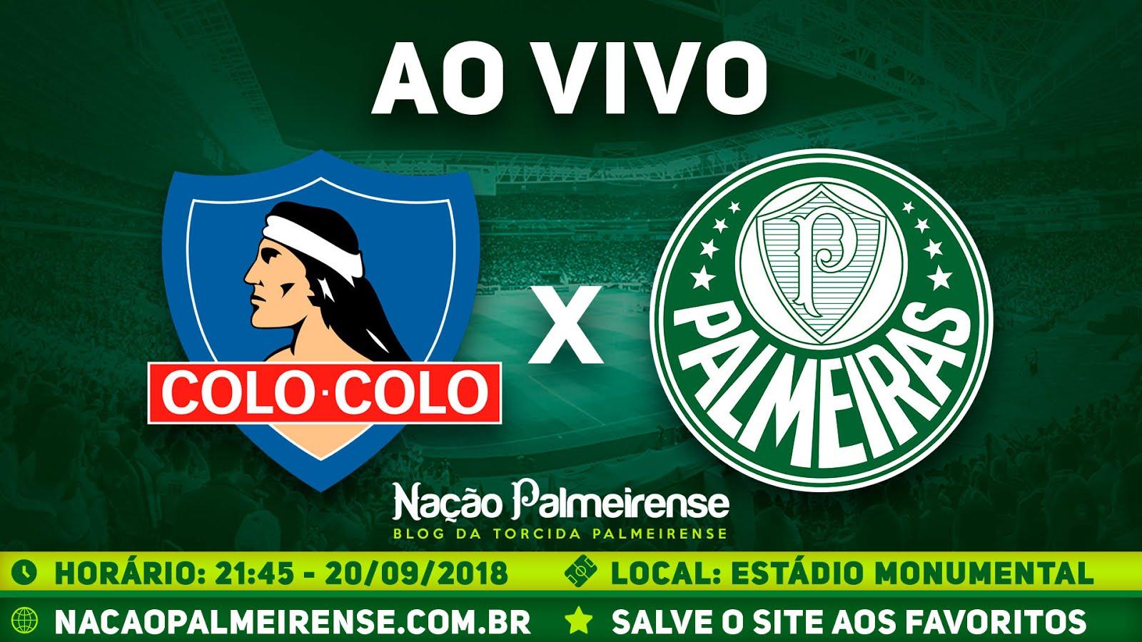 Assistir Colo-Colo x Palmeiras Ao Vivo