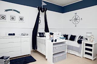 cuarto azul bebé
