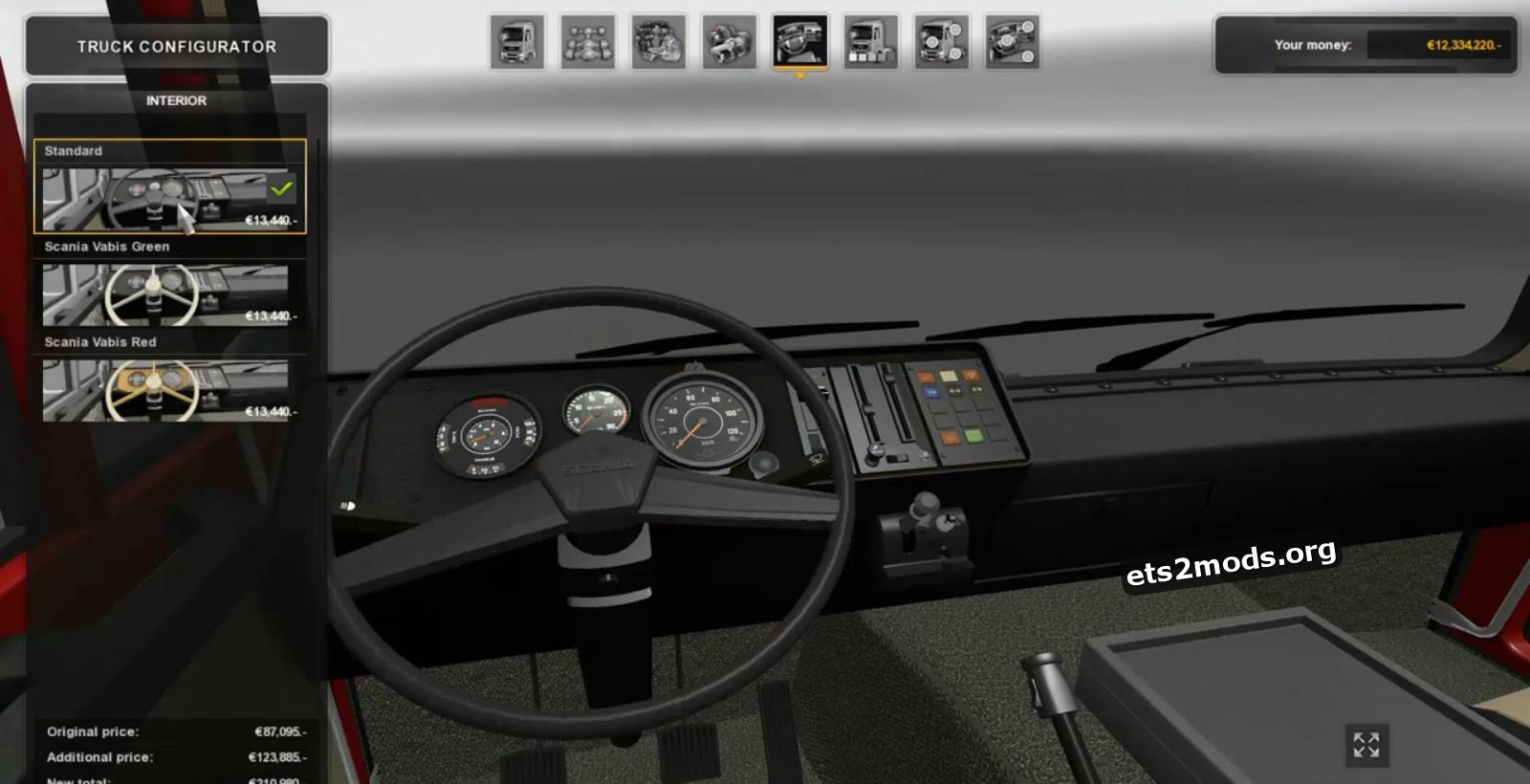 Scania 1 Series Truck version 2