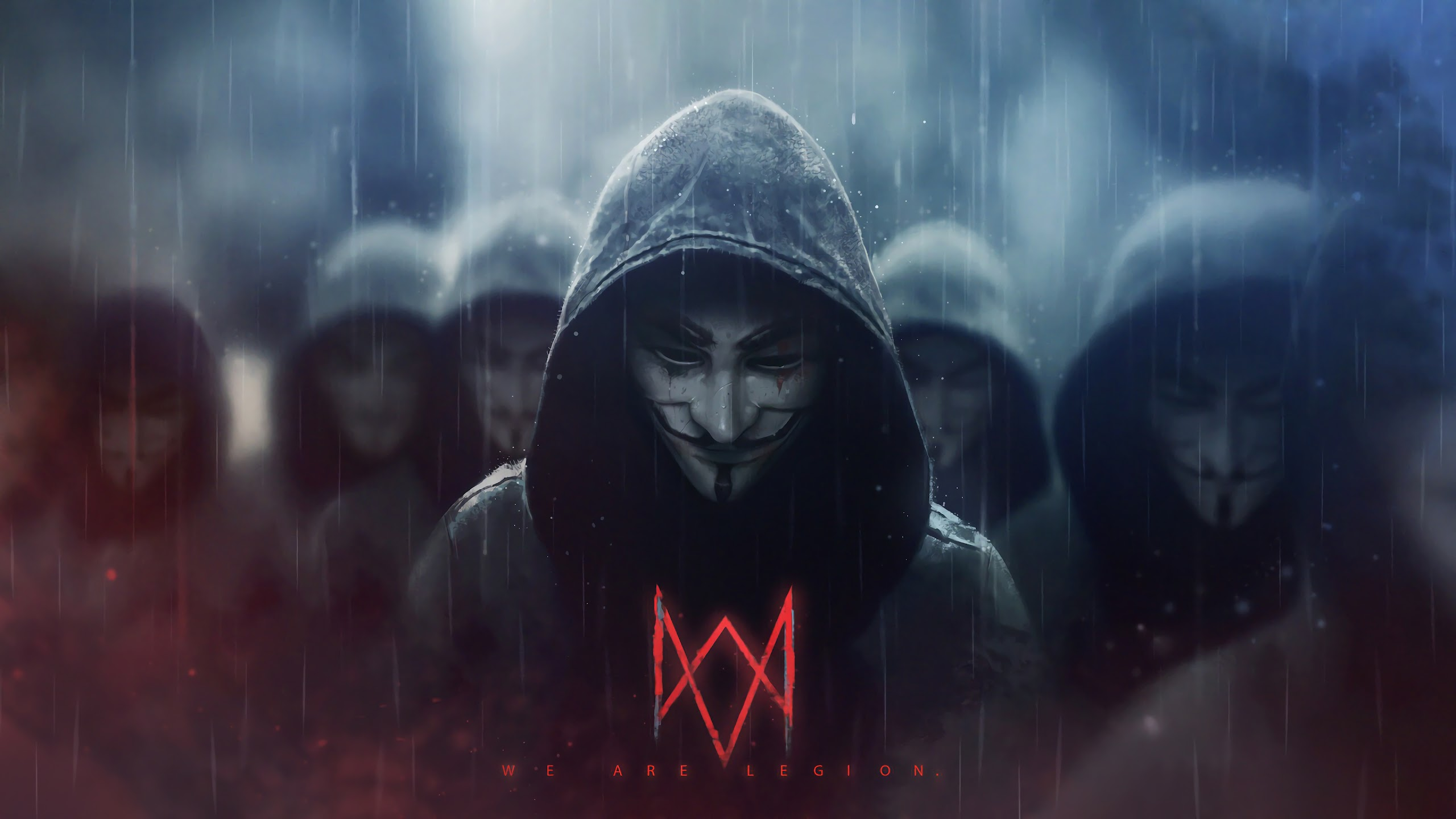Watch Dogs Legion Logo Anonymous 4k Wallpaper 3
