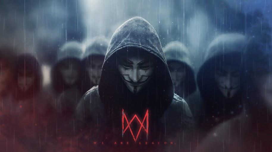 Watch Dogs Legion Logo Anonymous 4k Wallpaper 3