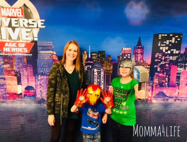 marvel universe live meet and greet