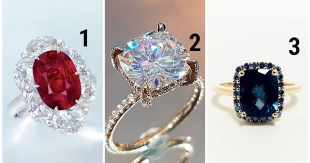 Выберите самое красивое кольцо!