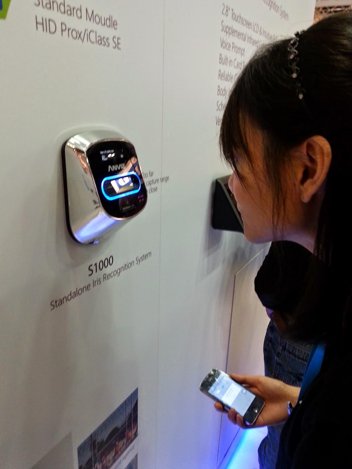 Reconocimiento biometrico por iris