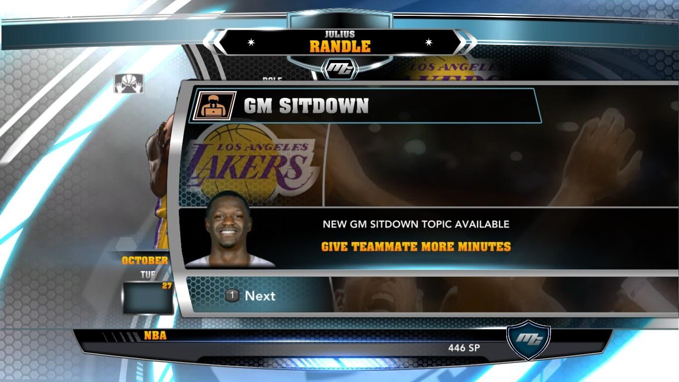 NBA 2k14 MyCareer Mod : Julius Randle - hoopsvilla