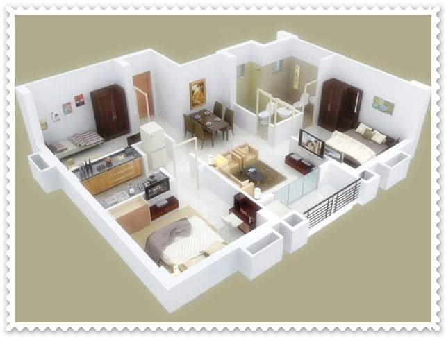 gambar konsep rumah minimalis sederhana type 36