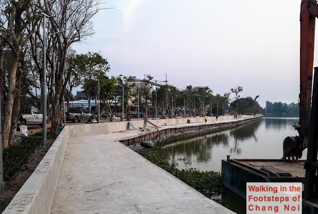 Bung Kaen Nakorn Lake in Khon Kaen, Thailand