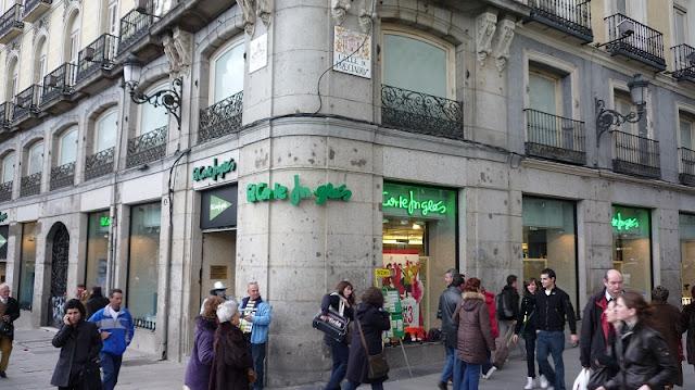 El Corte Ingles Calle Preciados em Madri