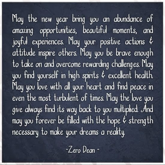 May Quotes For Inspiration: Inspirational Picture Quotes...: May The New Year Bring You