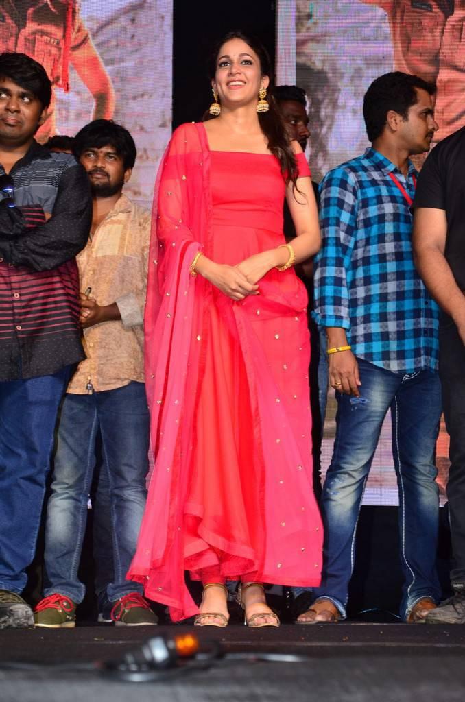 Beautiful Telugu Girl Lavanya Tripathi Photo Shoot In Red Dress