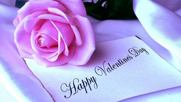 Happy-Valentines-Day-Wallpaper-With-Rose