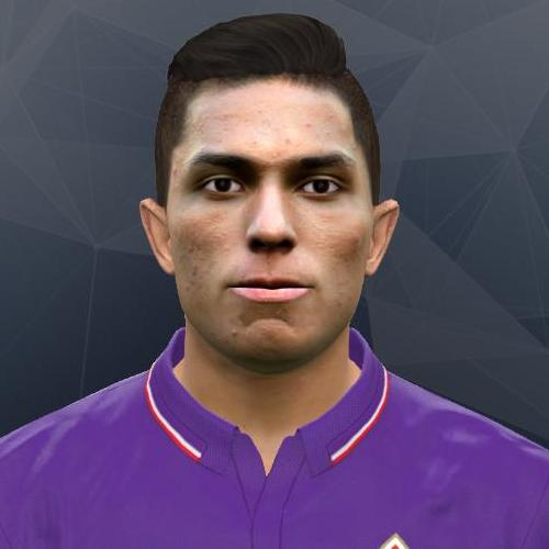 PES 2017 Carlos Joel Salcedo Hernández (Fiorentina) Face by Andrey_Pol
