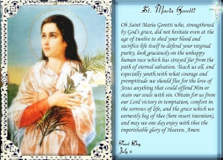 Saint Maria Goretti Prayer