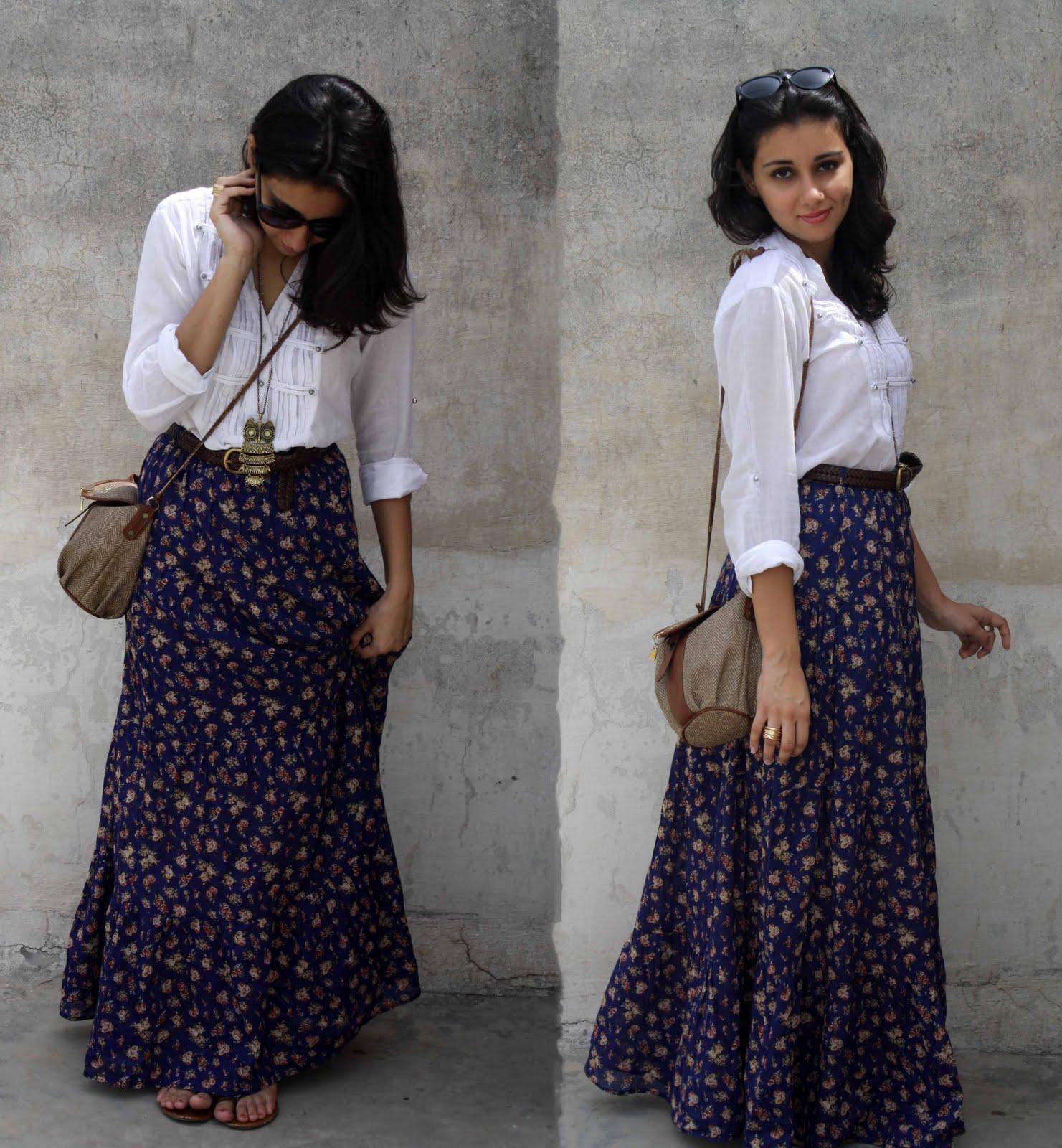 42ec6b0690 Buy Designer Long Skirts Online India | Printed Long Skirt