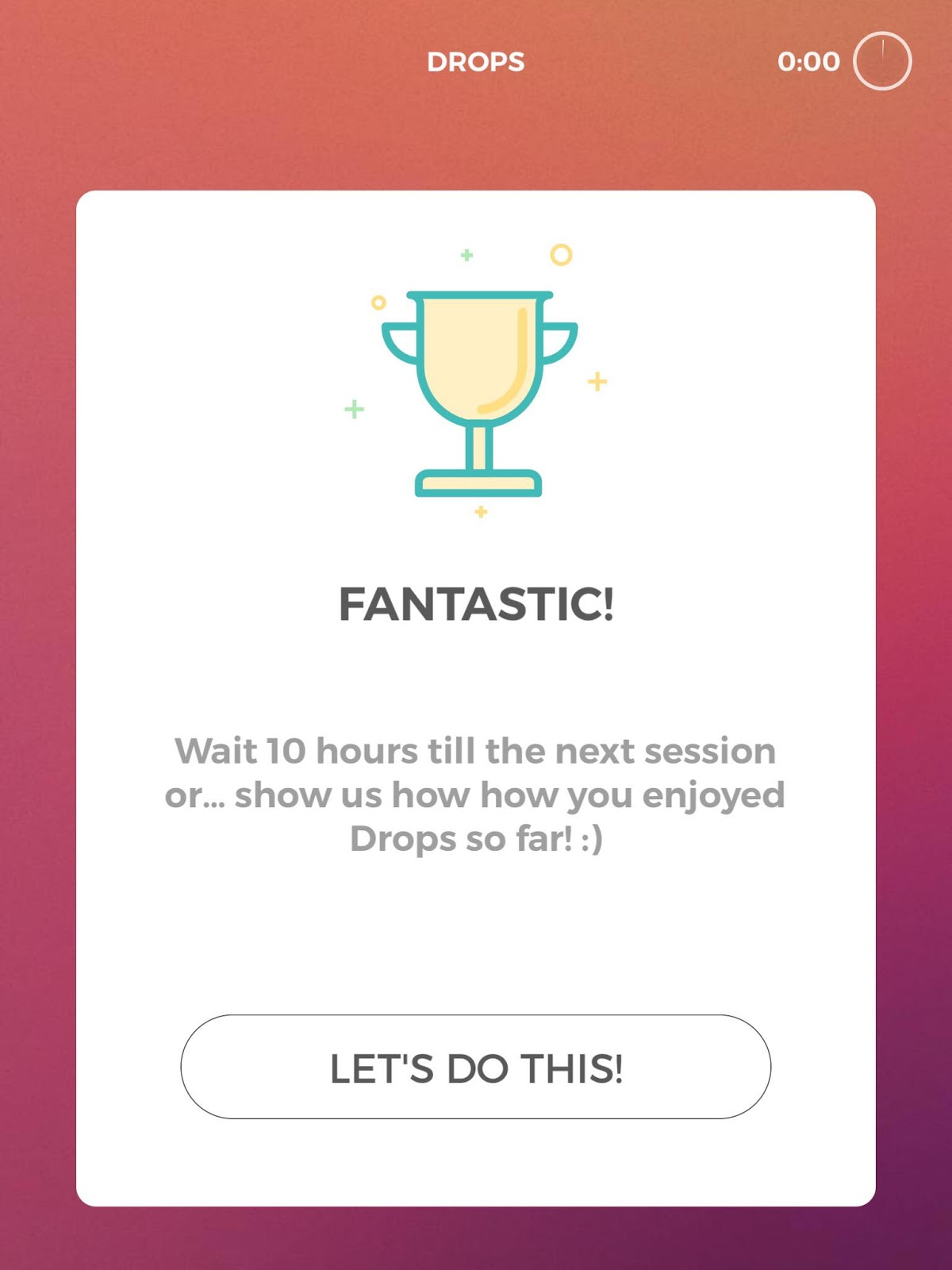 Language Learning App Review: Drops | Sincerely, Alice