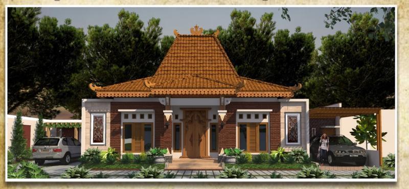 660 Koleksi Gambar Rumah Jawa Modern HD