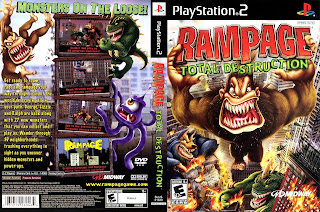 Lengkap Rampage: Total Destruction PS2