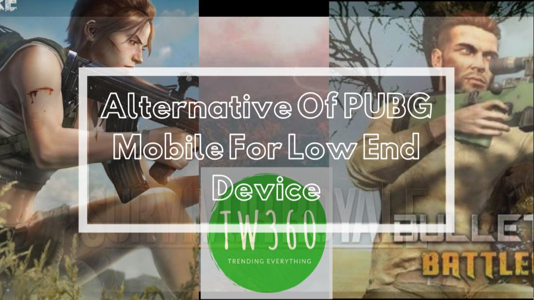 Alternative Of PUBG Mobile For Low End Device