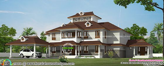 New traditional Kerala home