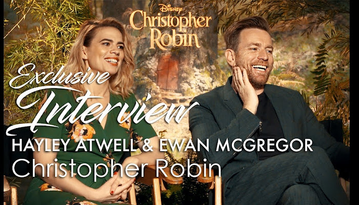 Interview Ewan McGregor and Hailey Atwell, Christopher Robin