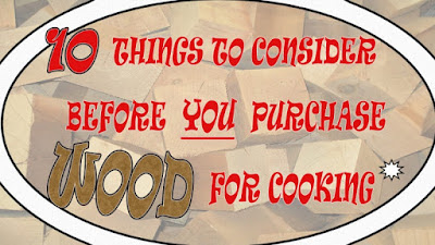 Smokinlicious® wood blocks are a pristine backdrop for the 10 things to consider when purchasing wood for cooking!!