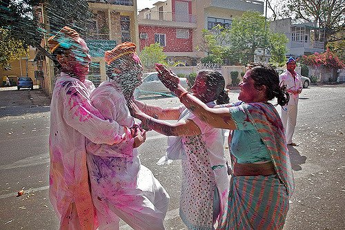 holi festival pictures