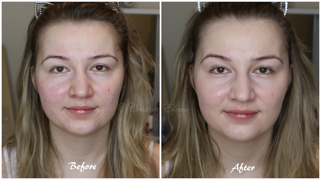 Bourjois healthy mix foundation coverage before and after