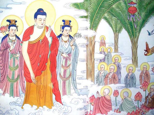 """Công đức niệm Phật vô lượng cho những người chí tâm niệm """" Nam Mô A Di Đà Phật """""""