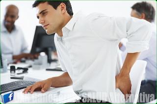 prostata dolor espalda baja