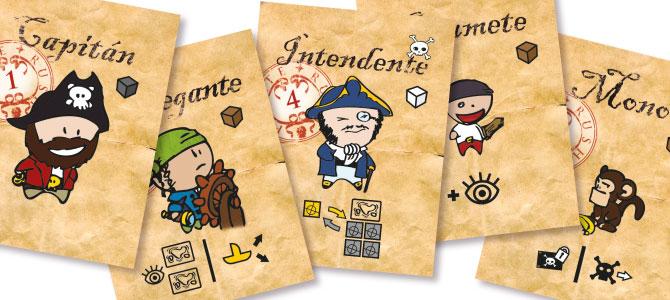 Pirate Rush new characters