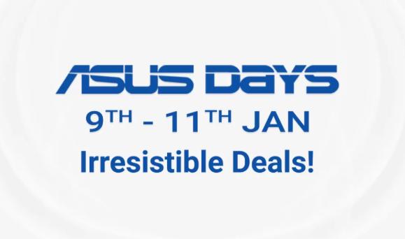 फ्लिपकार्ट पर Asus Day पर मिल रहा है Asus के स्मार्टफोन पर भारी डिस्काउंट 9 से 11 जनवरी