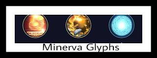 Heroes Evolved Minerva Glyphs