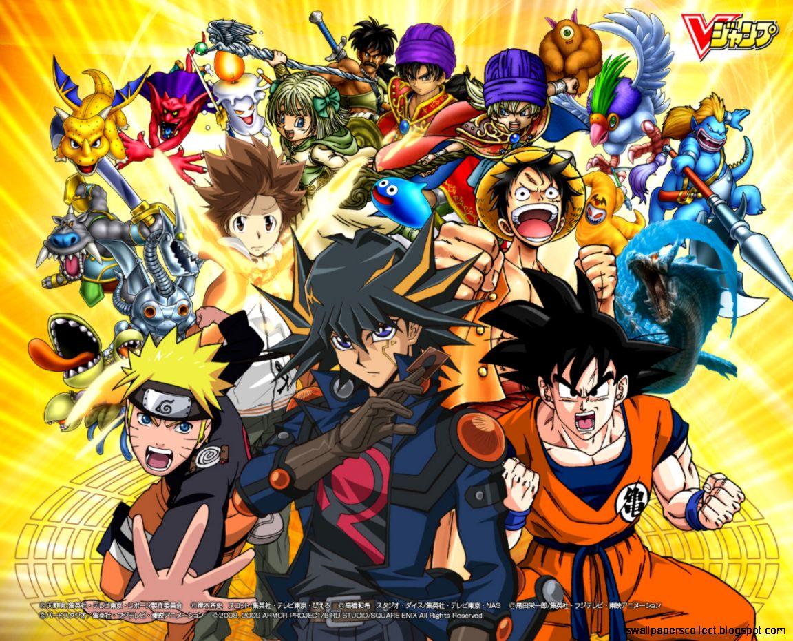 There are 3 ways to go about this: Goku Luffy Naruto Ichigo Saiyan Island   Wallpapers Collection