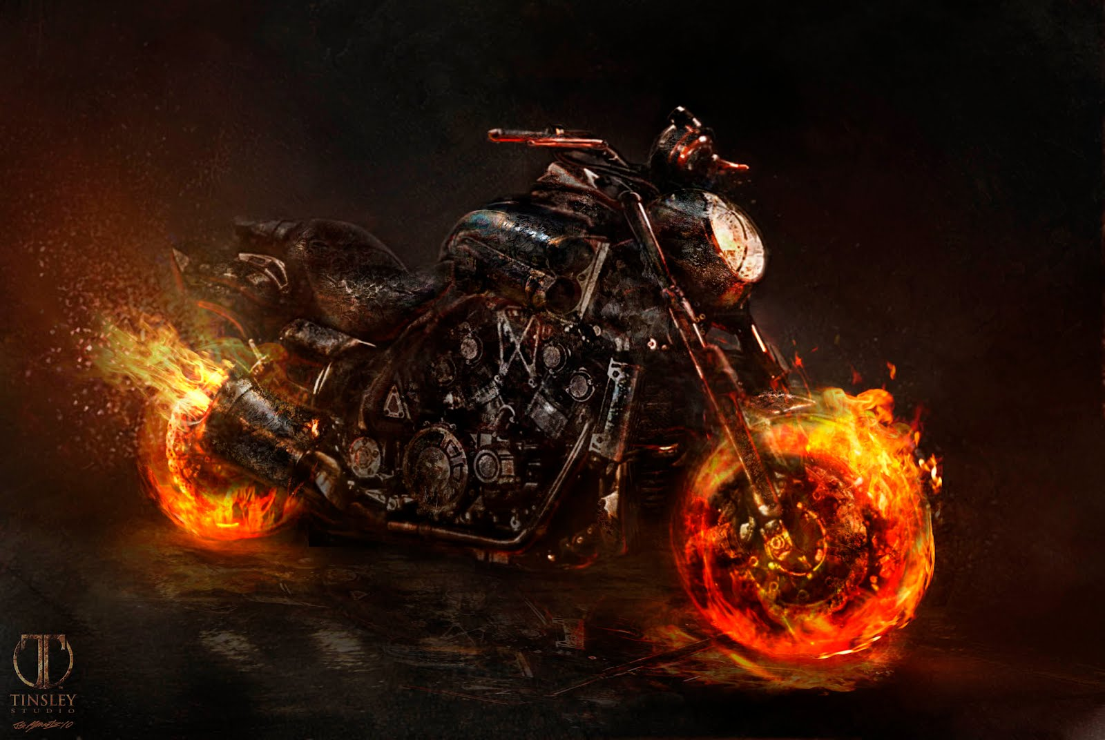 Blue Book Bikes >> Ghost Rider Spirit of Vengeance designs.