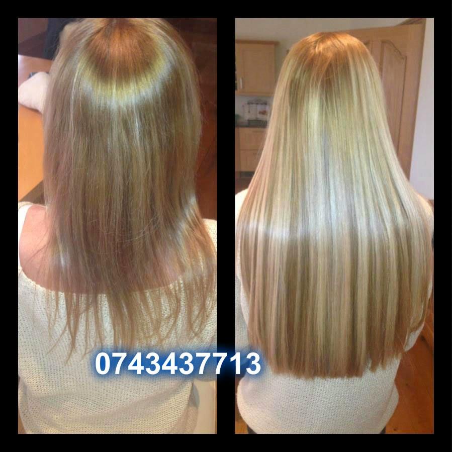 Lucia Lela Hair Studio Aplicare Extensii Par Natural Cu Keratina
