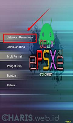 cara main game ps1 di epsxe android