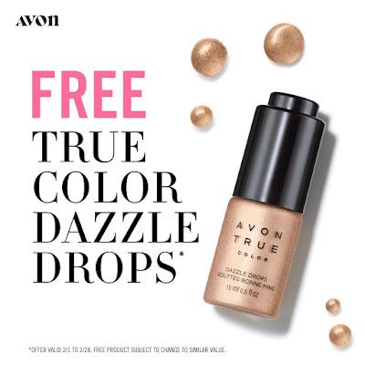 Free Avon Dazzle Drops